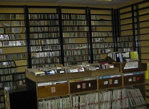 Radio station WFMU CD collection